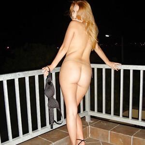 Muschilecken auf dem Balkon