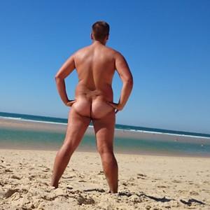 Strand geile schwänze am Blonde Schlampe